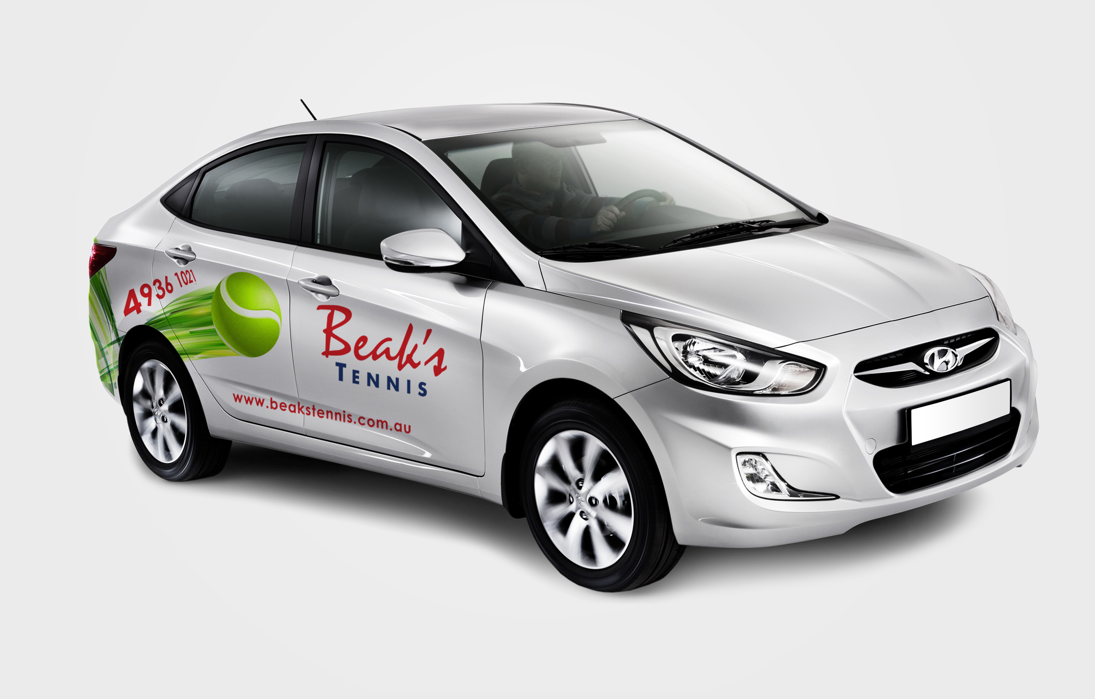 APAP Events Event Management and Graphic Design Rockhampton Beaks Tennis Car Graphics