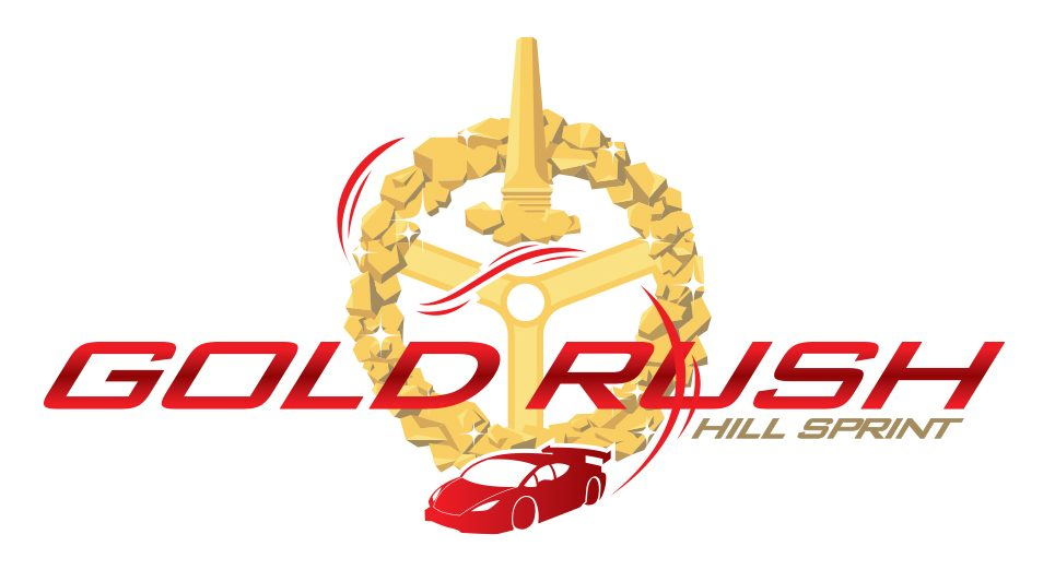 APAP Events Event Graphic Design - Gold Rush Hill Sprint Logo Creation