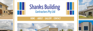 APAP Events Website Design Rockhampton Shanks Building Website Preview
