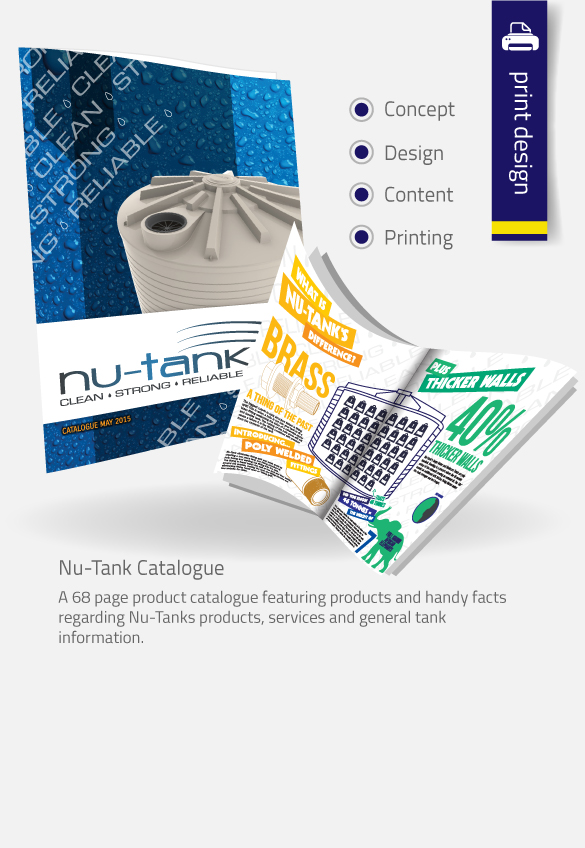 APAP Events Event Management and Graphic Design Rockhampton Nu-Tank Catalogue