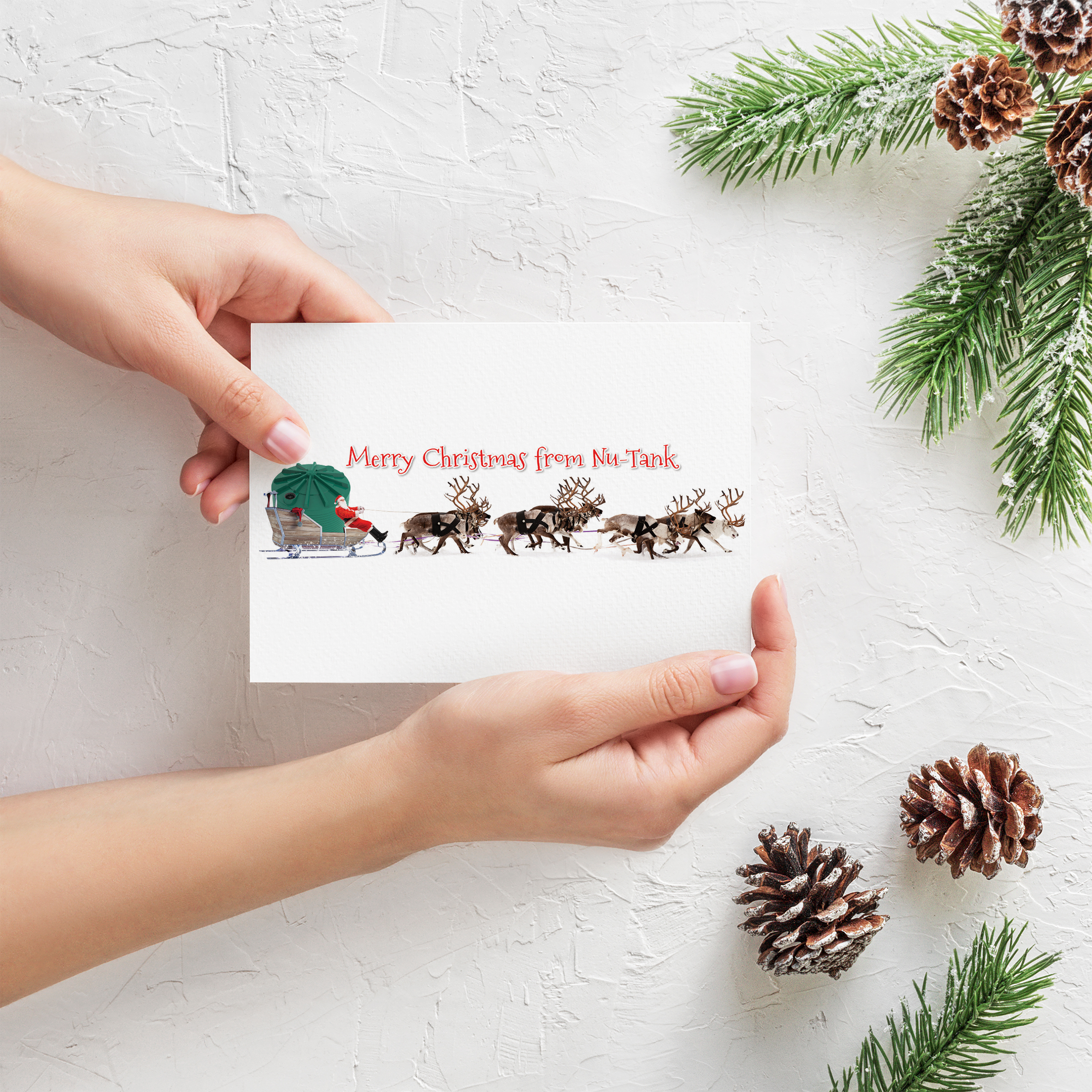 APAP Events Event Management and Graphic Design Rockhampton Nu-Tank Christmas Card Design