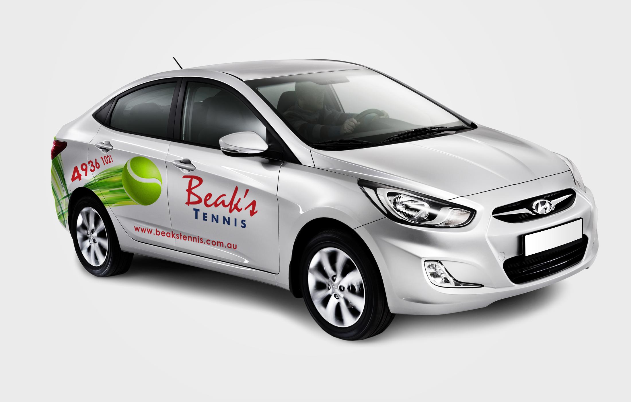 APAP Events Event Management and Graphic Design Rockhampton Beaks Tennis Car Graphics