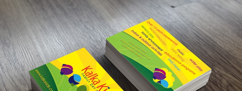APAP Events Event Management and Graphic Design Rockhampton Kalka Kids Business Cards
