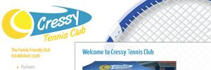 APAP Events Website Design Rockhampton Cressy Tennis Website Preview