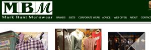 APAP Events Website Design Rockhampton Mark Bunt Menswear Website Preview