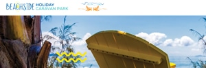 APAP Events Website Design Rockhampton Beachside Holiday Caravan Park Website Preview