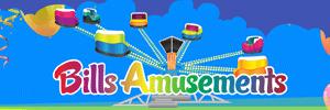 APAP Events Website Design Rockhampton Bills Amusement Website Preview